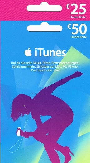 75 Euro iTunes Karte